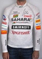 Tee shirt de course FORCE INDIA de Nico HULKENBERG